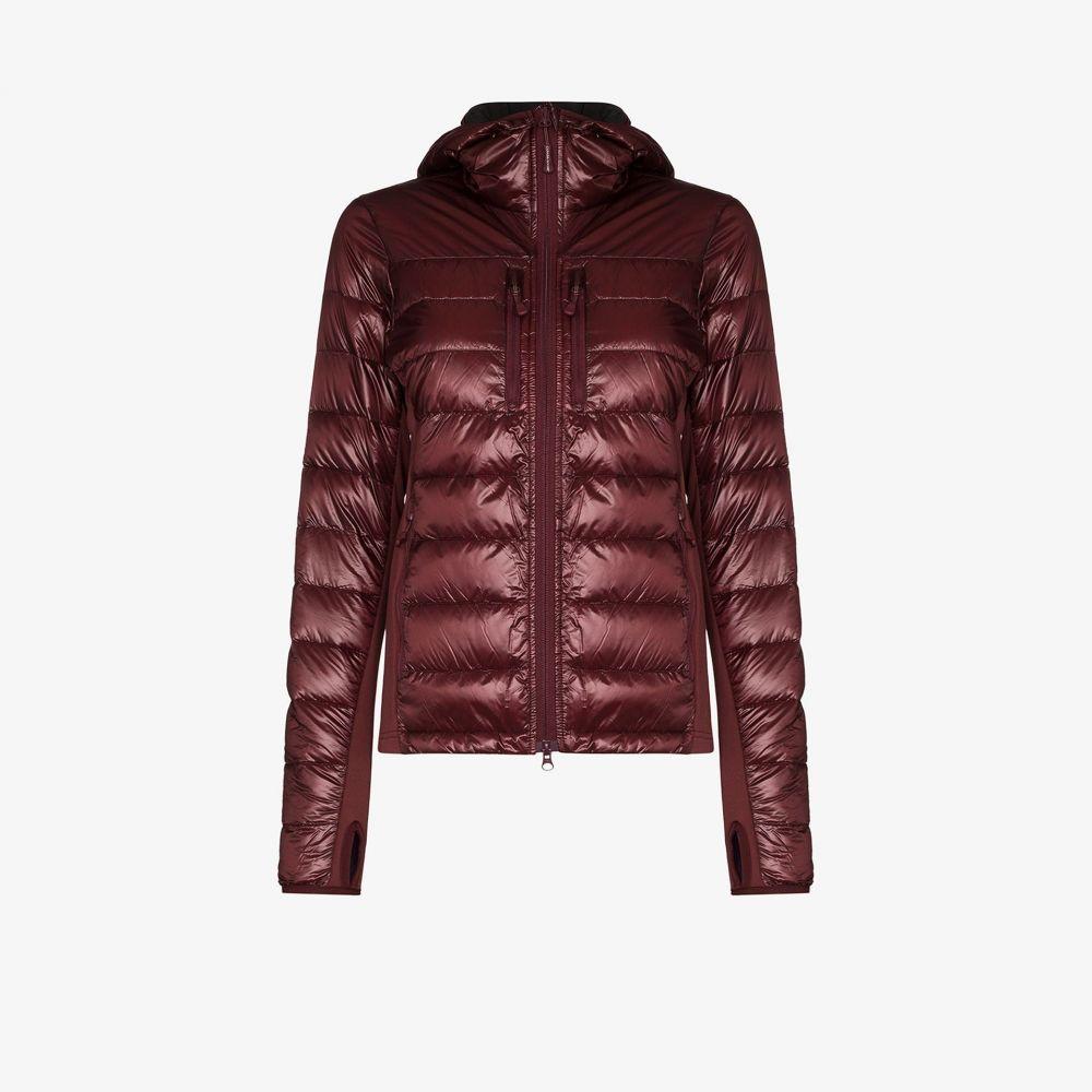 カナダグース Canada Goose レディース ダウン・中綿ジャケット アウター【Hybridge Lite quilted down jacket】red