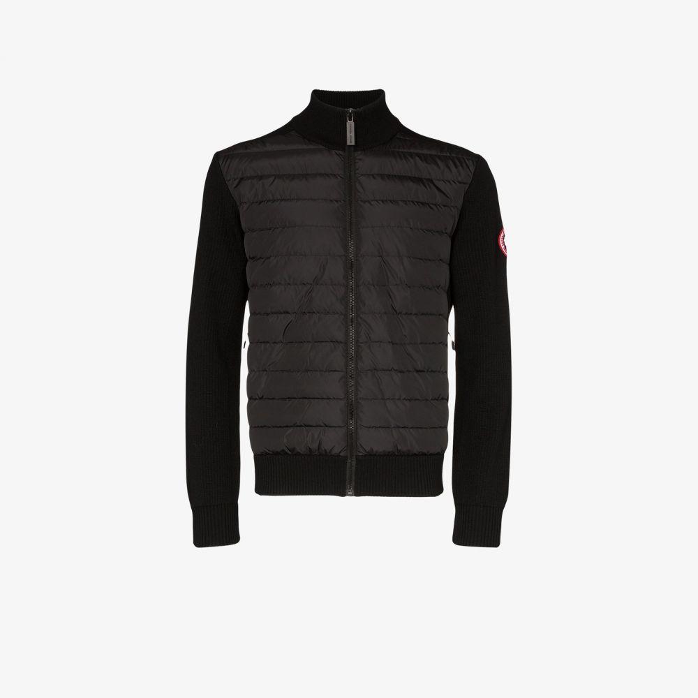 カナダグース Canada Goose メンズ ジャケット アウター【HyBridge knit padded jacket】black