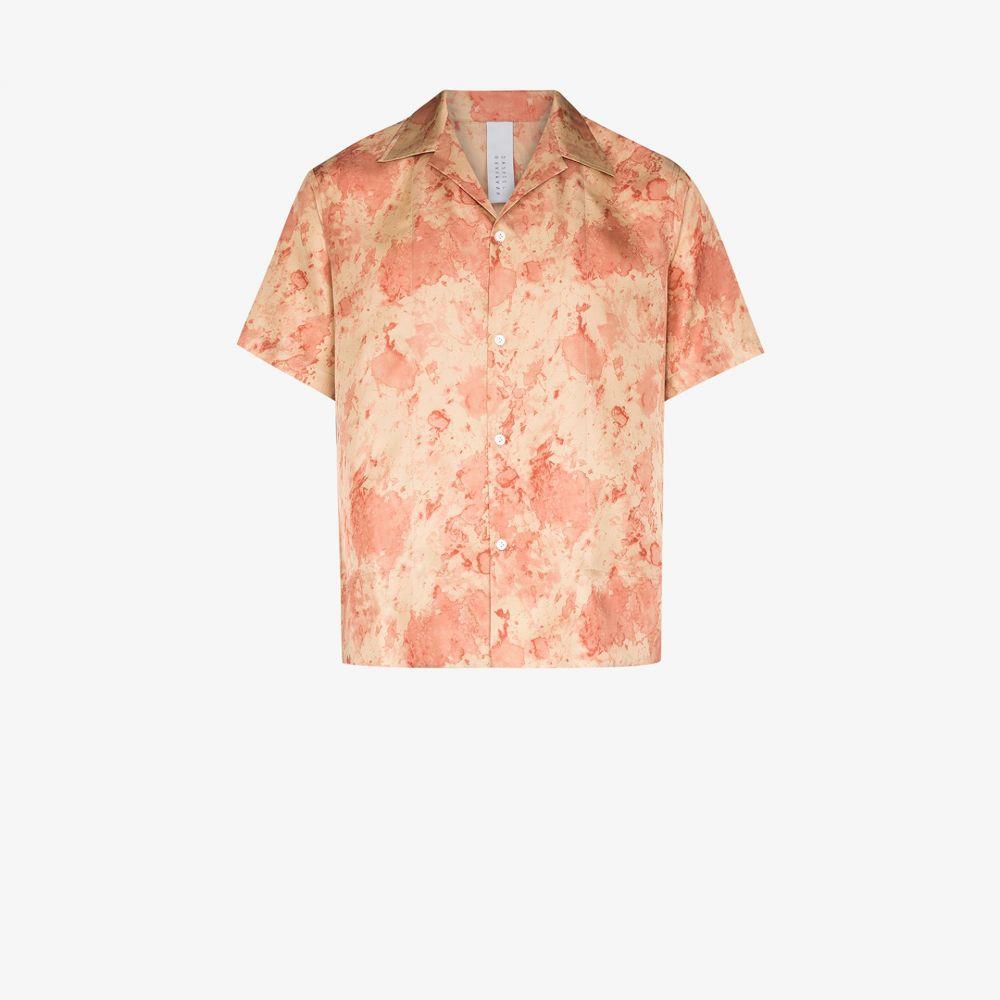 ダッシュエル ブラーマン Dashiel Brahmann メンズ シャツ トップス【tie-dye silk shirt】neutrals
