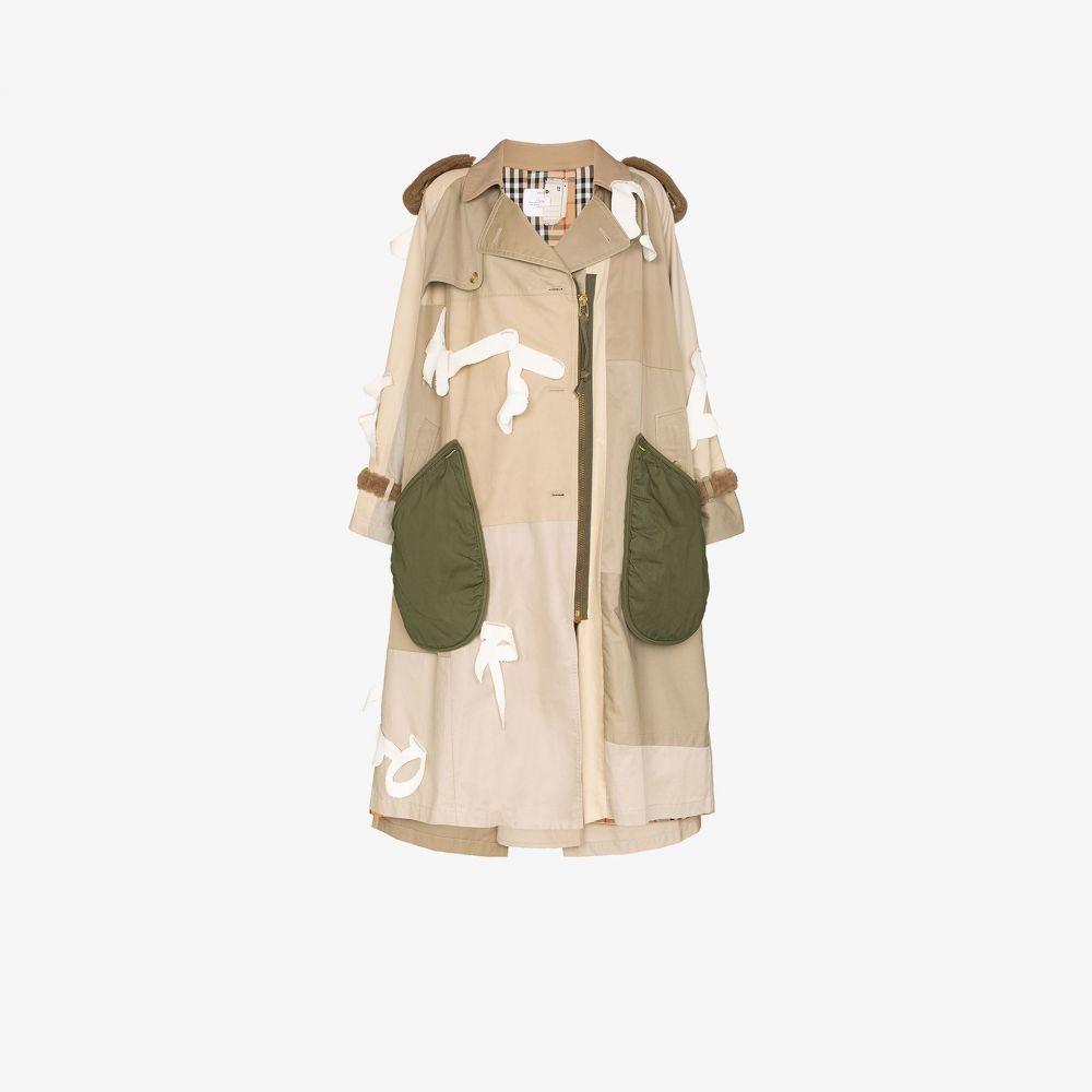 デュラン ランティンク Duran Lantink レディース トレンチコート アウター【LK31 letter detail trench coat】neutrals