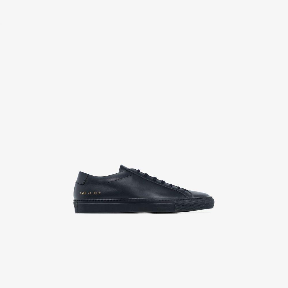 コモン プロジェクト Common Projects メンズ スニーカー シューズ・靴【navy blue achilles leather sneakers】blue