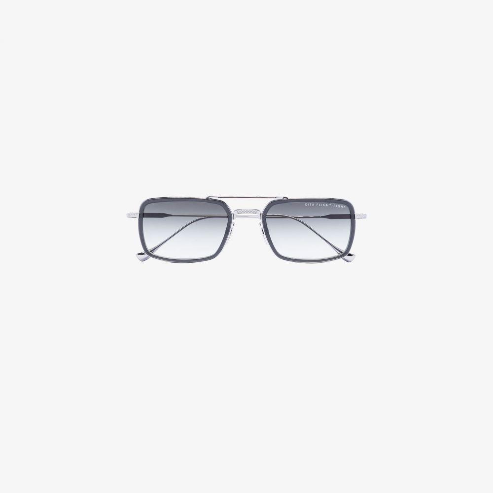 ディータ Dita Eyewear メンズ メガネ・サングラス スクエアフレーム【black Mach Seven square frame sunglasses】black