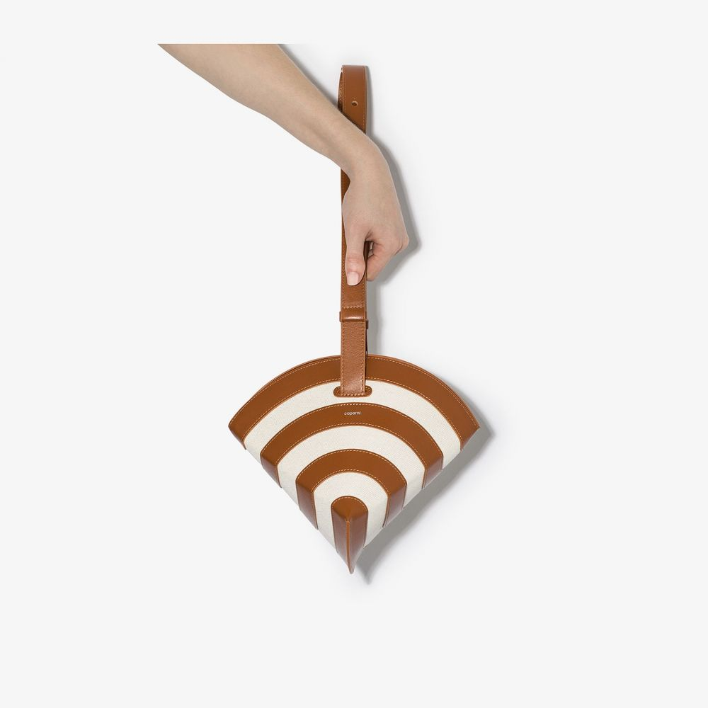 コぺルニ Coperni レディース ショルダーバッグ バッグ【brown Wifi leather shoulder bag】brown