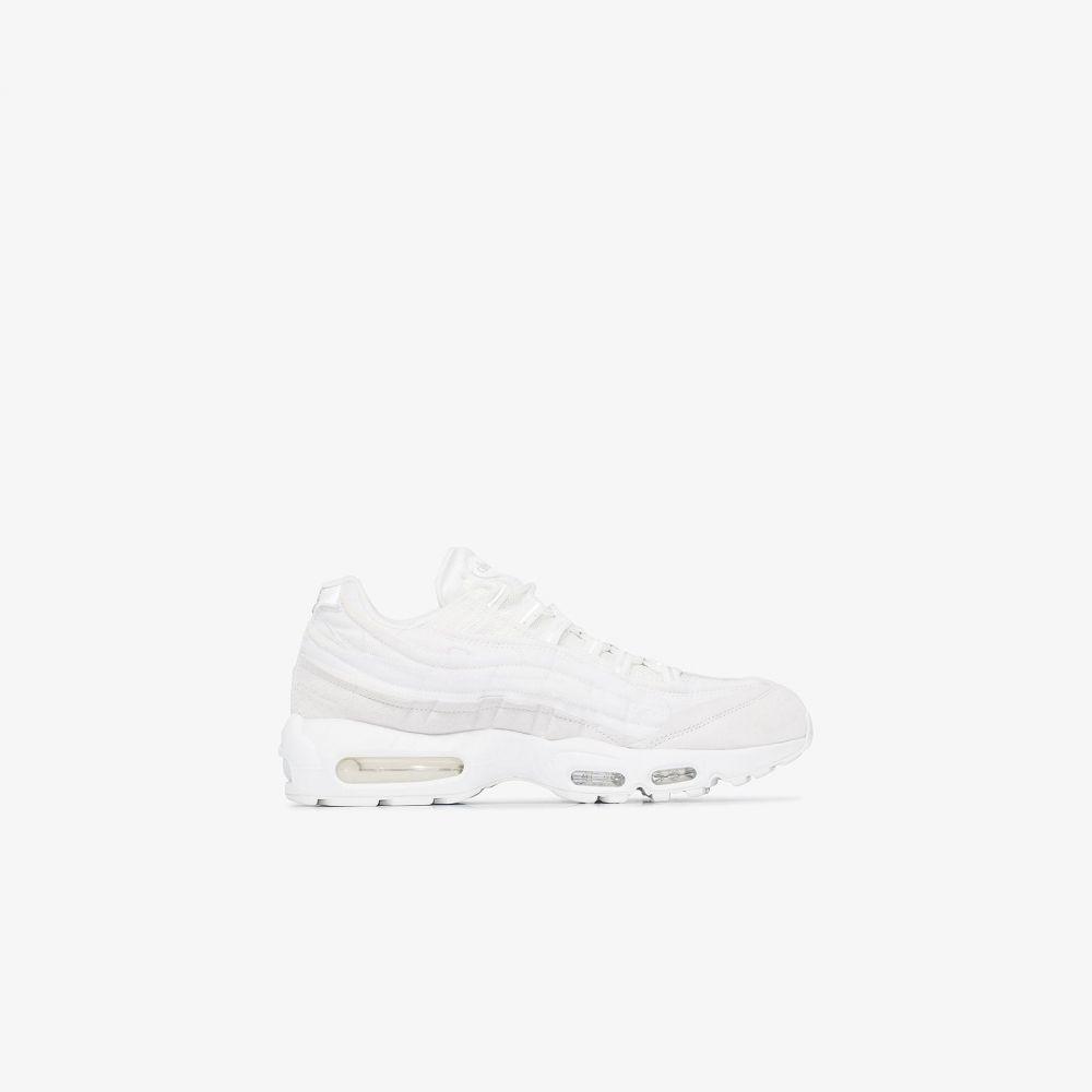 コム デ ギャルソン Comme Des Garcons Homme Plus メンズ スニーカー シューズ・靴【X Nike white Air Max 95 sneakers】white