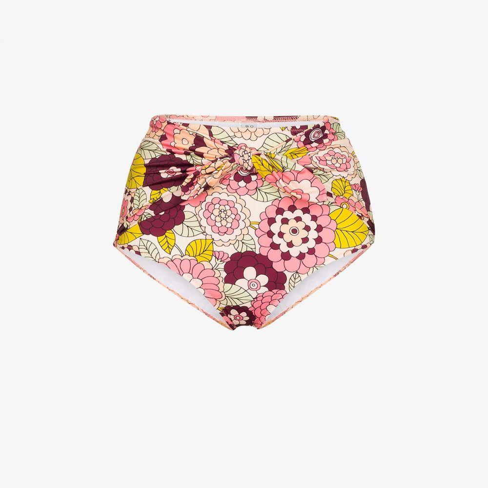 ドド バー オア Dodo Bar Or レディース ボトムのみ 水着・ビーチウェア【Kayla floral print bikini bottoms】pink