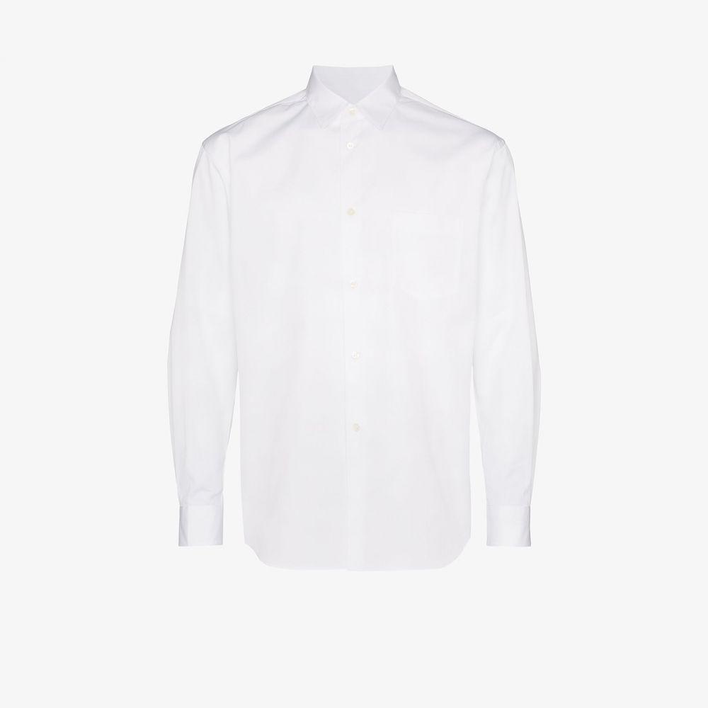 コム デ ギャルソン Comme Des Garcons Shirt メンズ シャツ トップス【Front pocket button-down shirt】white