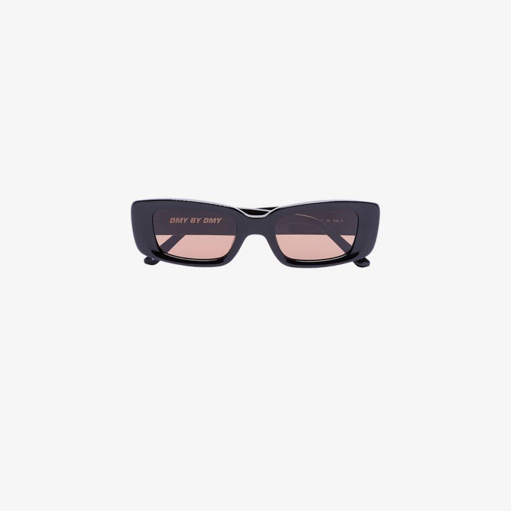 DMY バイ DMY DMY BY DMY レディース メガネ・サングラスblack preston rectangular sunglasses blackZTOiPXku