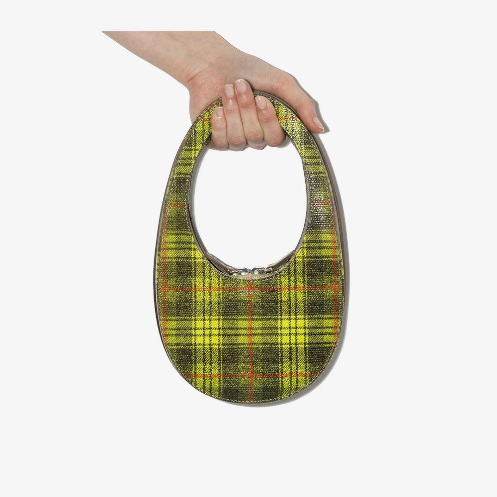 コぺルニ Coperni レディース ショルダーバッグ バッグ【green Swipe mini leather shoulder bag】green