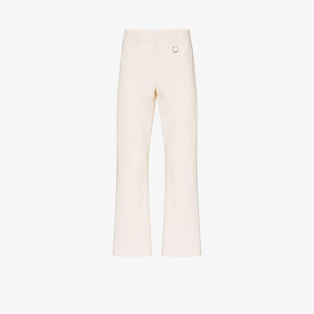 ダッシュエル ブラーマン Dashiel Brahmann メンズ ジーンズ・デニム ボトムス・パンツ【straight leg five pocket jeans】white