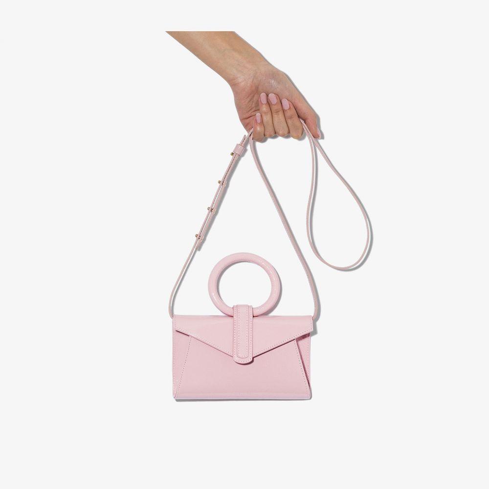 コンプリートリー Complet レディース ボディバッグ・ウエストポーチ バッグ【pink Valery mini leather belt bag】pink
