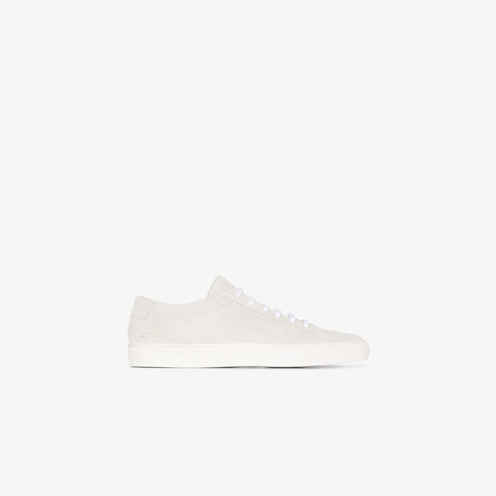 コモン プロジェクト Common Projects メンズ スニーカー ローカット シューズ・靴【Grey Achilles Suede Low Top Sneakers】grey