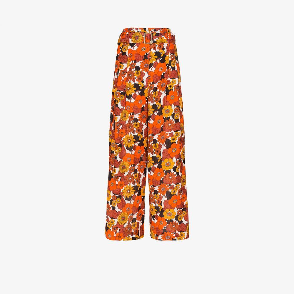 ドド バー オア Dodo Bar Or レディース ビーチウェア ボトムス・パンツ 水着・ビーチウェア【Gigi autumn flowers trousers】white