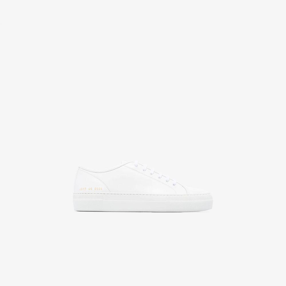 コモン プロジェクト Common Projects レディース スニーカー シューズ・靴【white Tournament Low Super sneakers】white