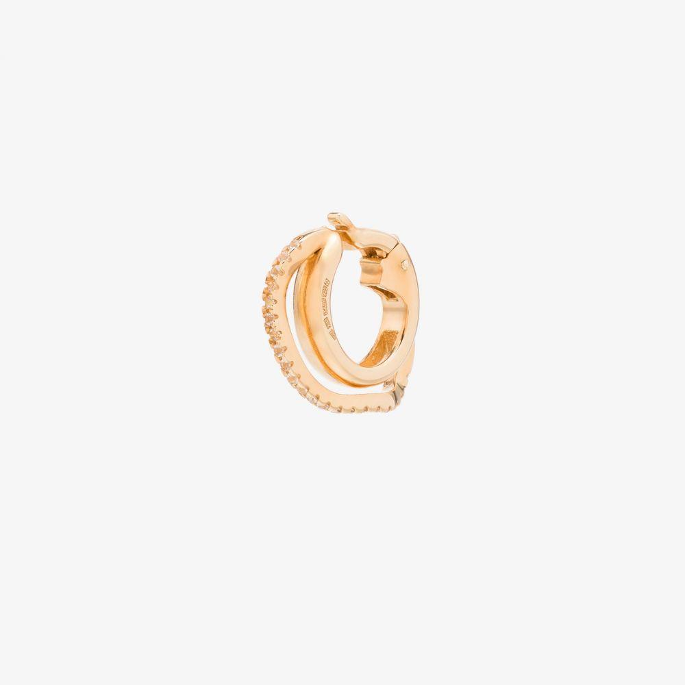 コルネリアウェブ Cornelia Webb レディース イヤリング・ピアス イヤーカフ ジュエリー・アクセサリー【24K gold-plated distorted ear cuff】gold