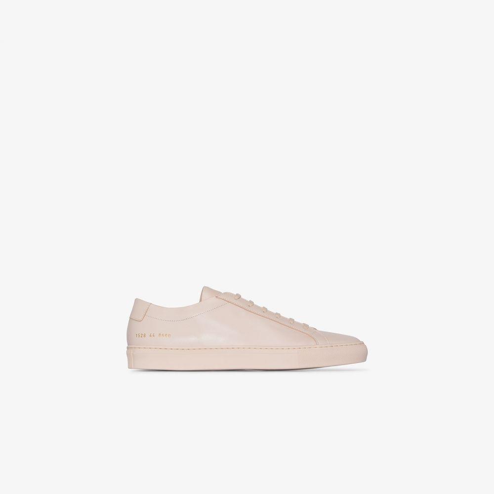 コモン プロジェクト Common Projects メンズ スニーカー シューズ・靴【neutral Achilles leather sneakers】neutrals
