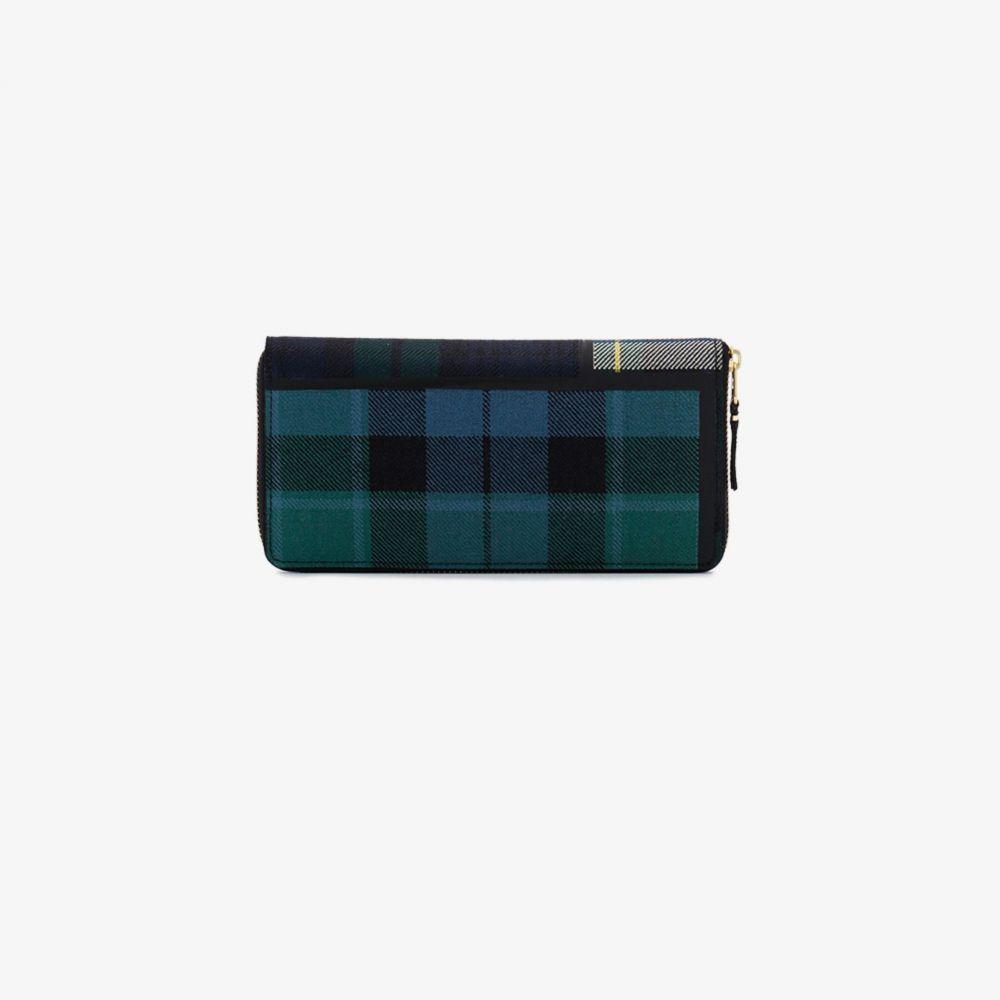 コムデギャルソン Comme Des Garcons Wallet メンズ 財布 【green large tartan print wallet】green