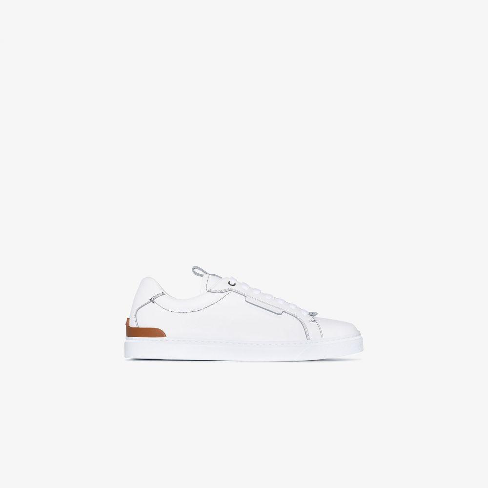 エルメネジルド ゼニア Ermenegildo Zegna メンズ スニーカー シューズ・靴【white classic sneakers】white