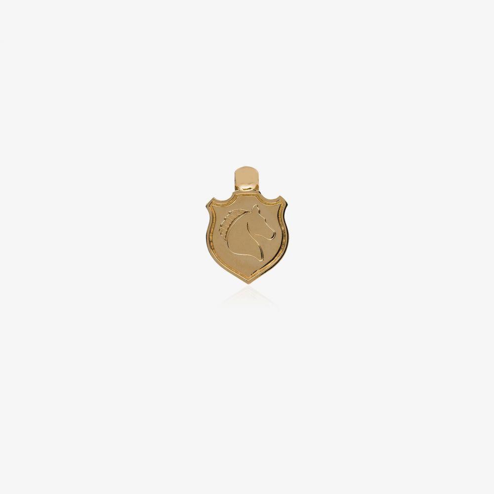 ファウンドレー Foundrae レディース ジュエリー・アクセサリー チャーム【18K yellow gold horse shield charm】