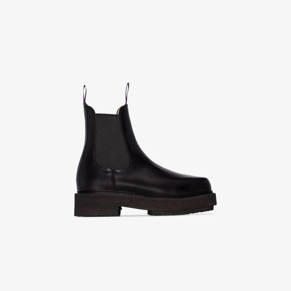 エイティーズ Eytys レディース ブーツ チェルシーブーツ シューズ・靴【black ortega 50 chelsea boots】black