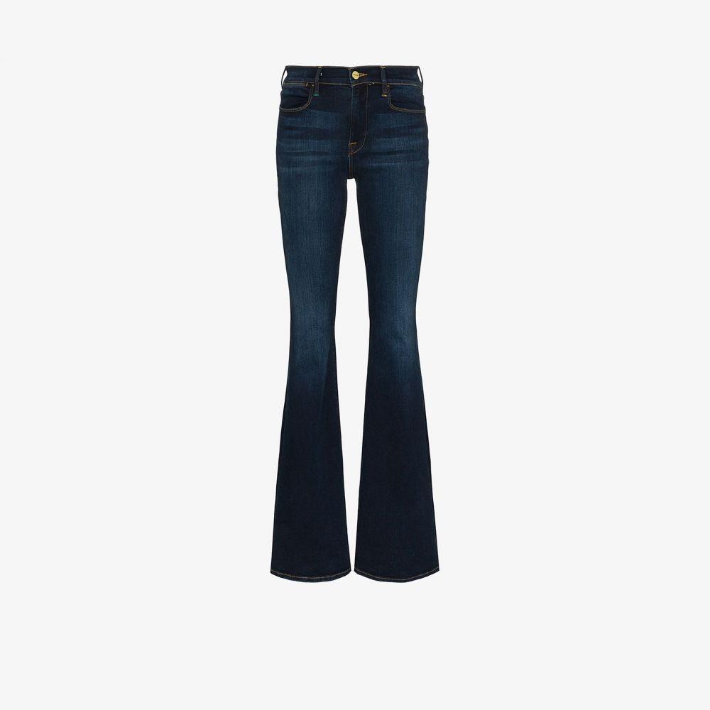 フレーム FRAME レディース ジーンズ・デニム ボトムス・パンツ【Le High high waist flared jeans】blue