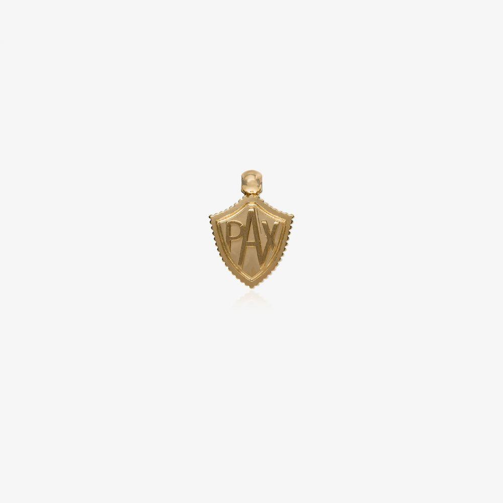 ファウンドレー Foundrae レディース ジュエリー・アクセサリー チャーム【18K yellow gold Pax shield charm】