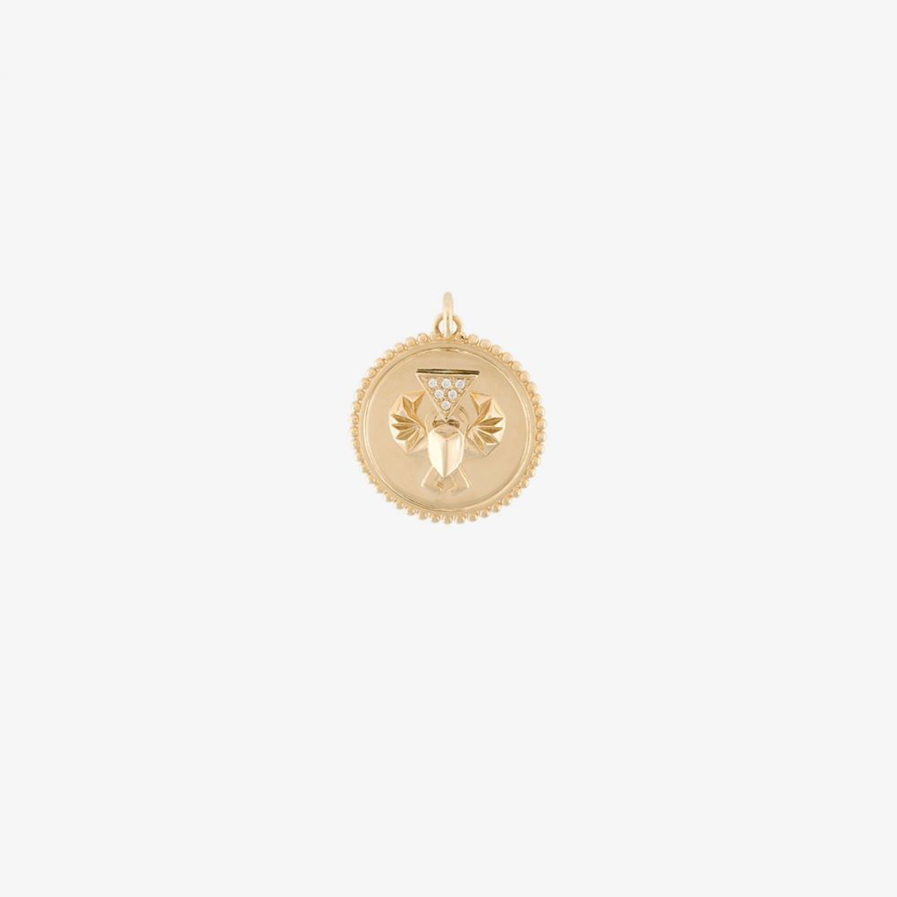 ファウンドレー Foundrae レディース ジュエリー・アクセサリー チャーム【18K yellow gold Protection Baby charm】metallic
