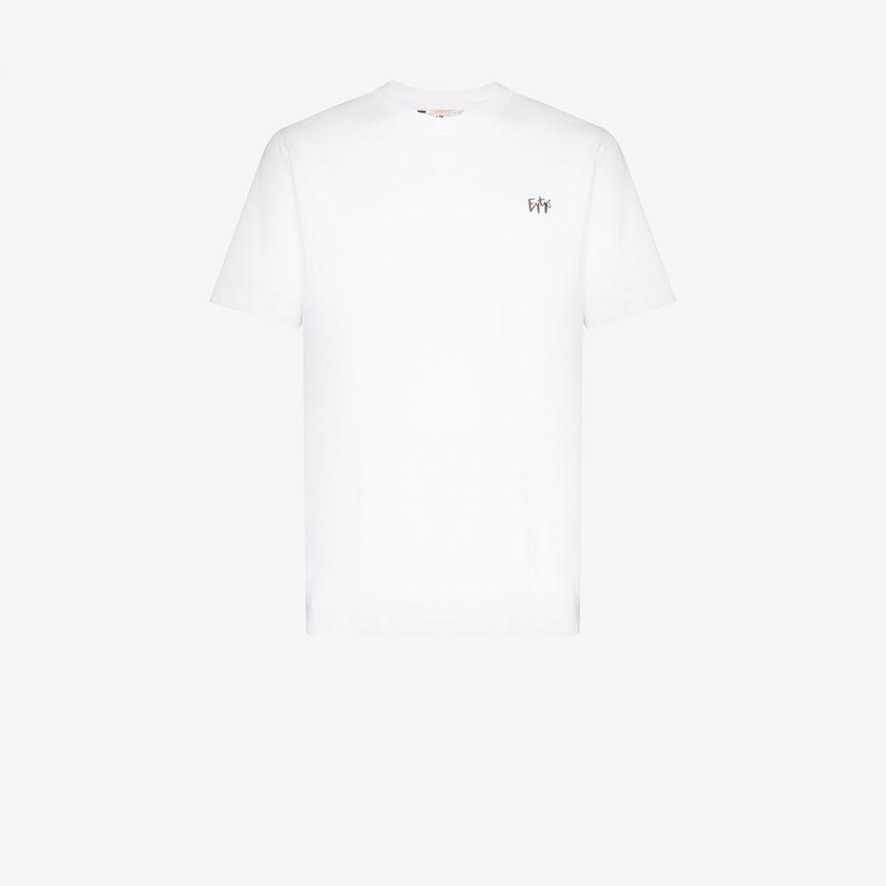 エイティーズ Eytys メンズ Tシャツ トップス【Smith logo T-shirt】white