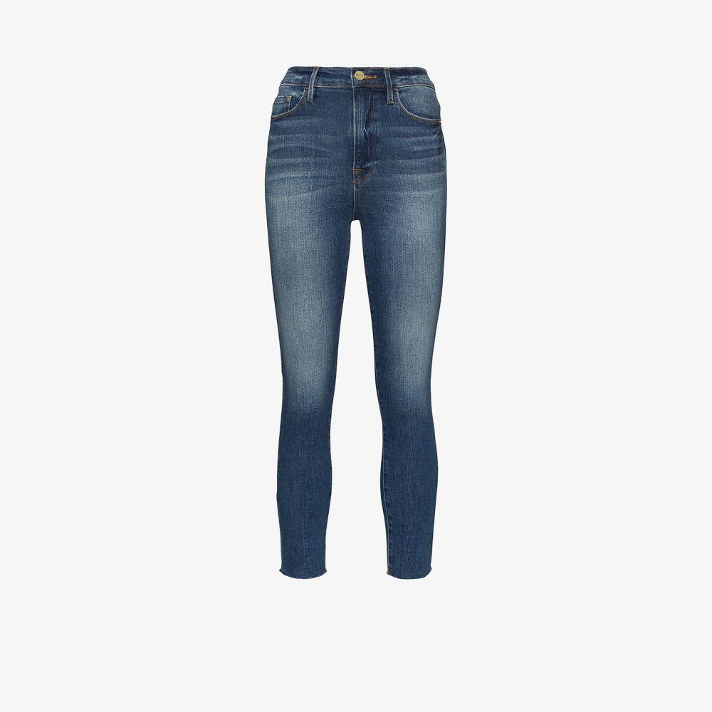 フレーム FRAME レディース ジーンズ・デニム ボトムス・パンツ【Ali cigarette jeans】blue