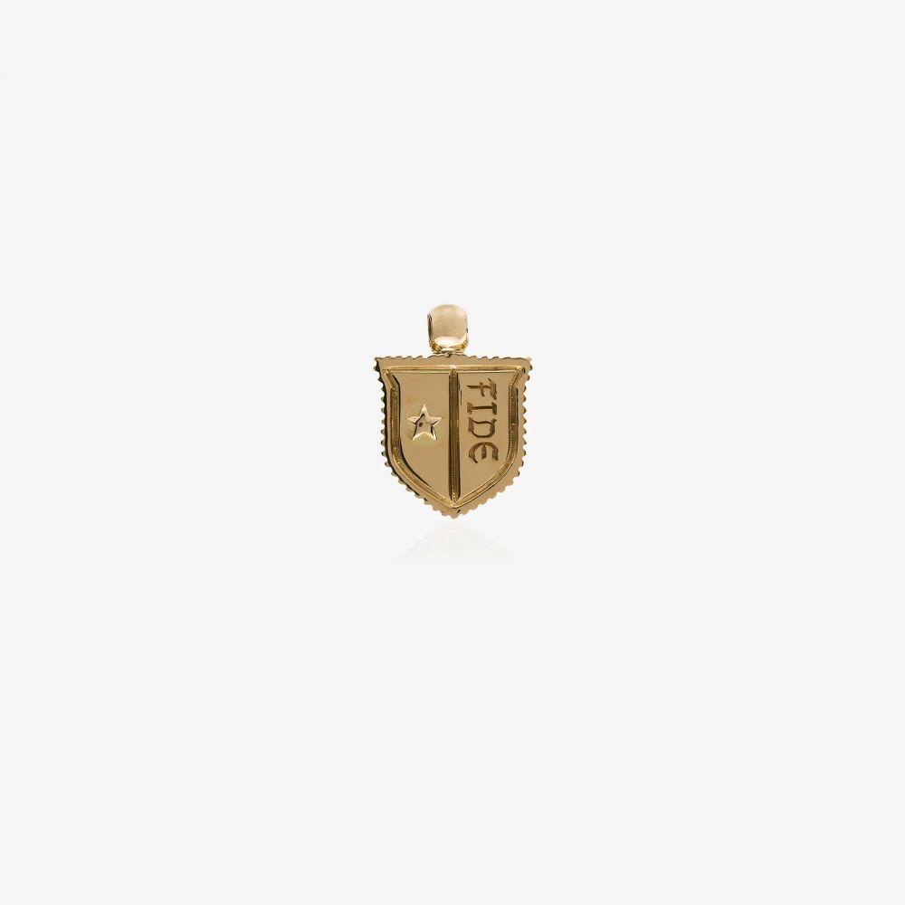 ファウンドレー Foundrae レディース ジュエリー・アクセサリー チャーム【18K yellow gold Fide star shield charm】