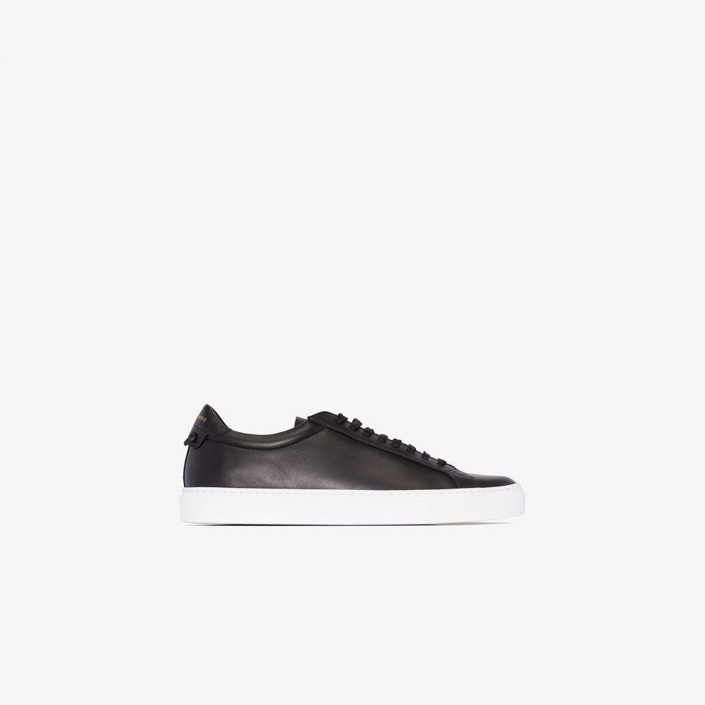 ジバンシー Givenchy メンズ スニーカー シューズ・靴【black Urban Street leather sneakers】black