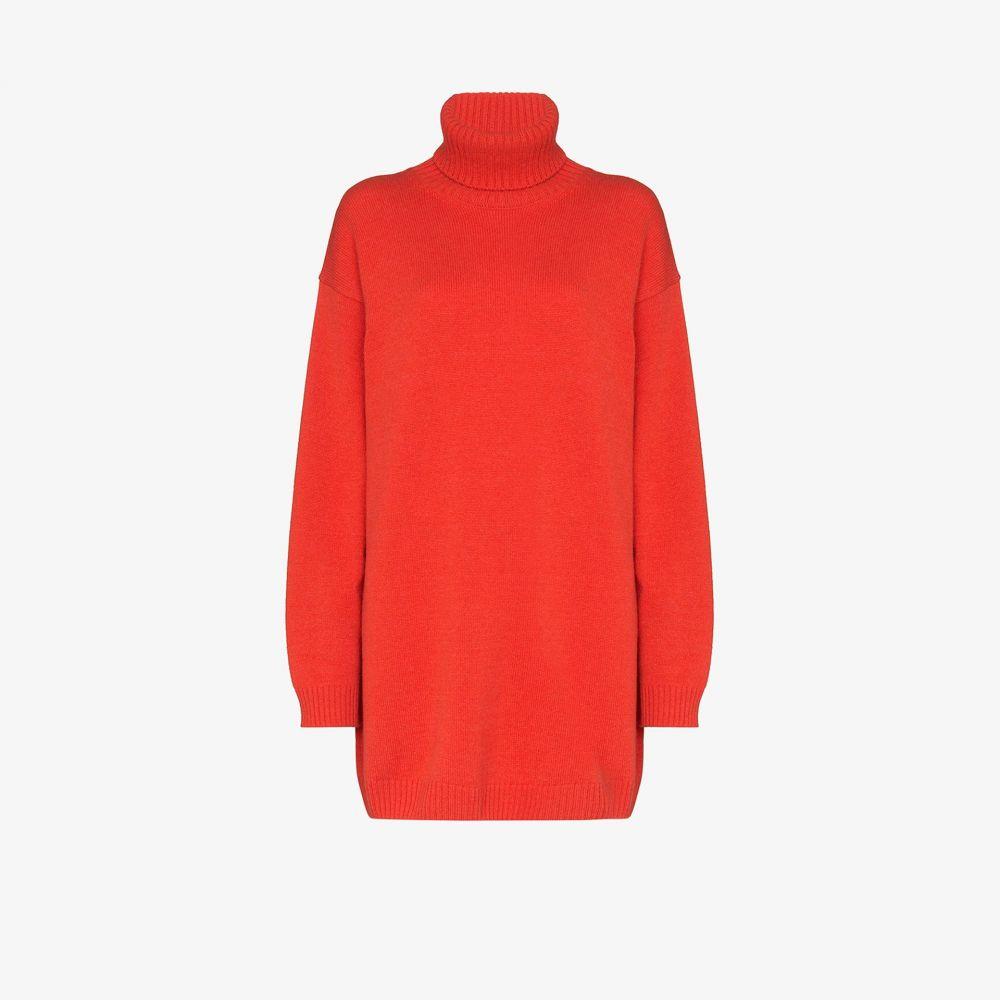 ゲージ81 GAUGE81 レディース ニット・セーター トップス【oversized cashmere sweater】orange