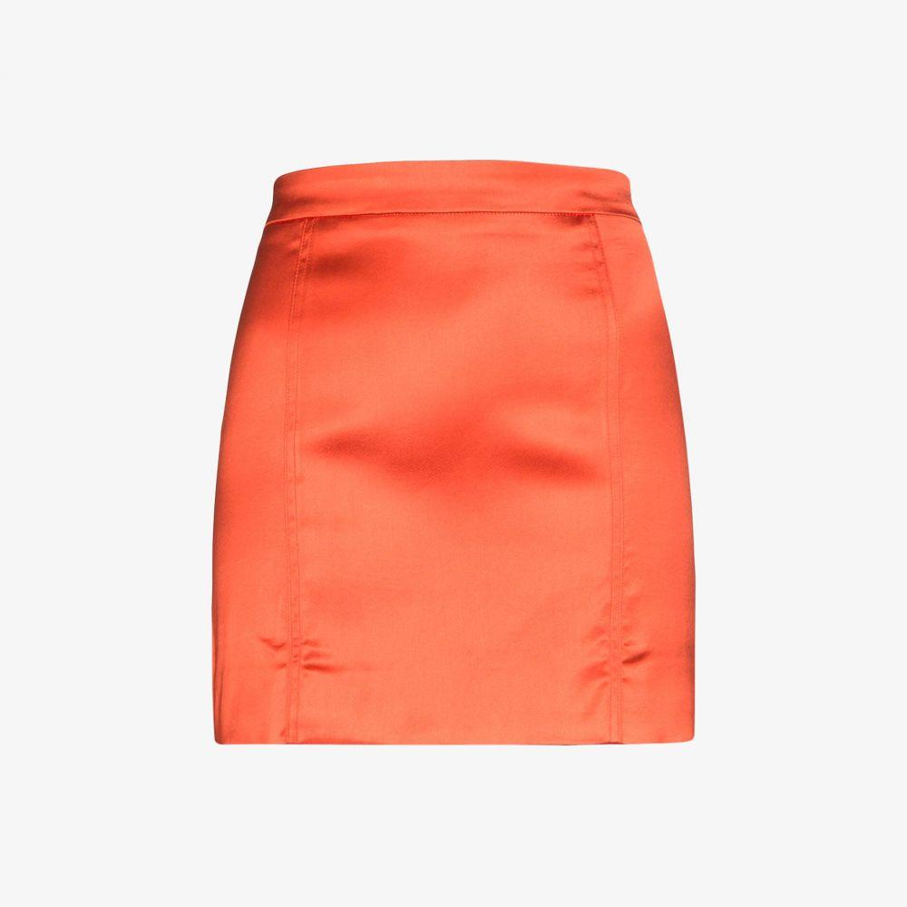 ゲージ81 GAUGE81 レディース ミニスカート スカート【Tuscany satin mini skirt】orange:フェルマート