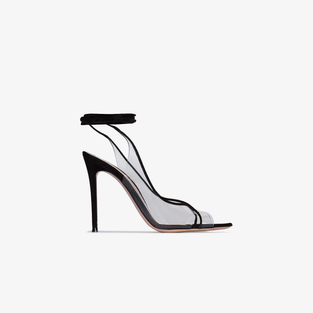 ジャンヴィト ロッシ Gianvito Rossi レディース サンダル・ミュール シューズ・靴【black Denise 115 leather sandals】black
