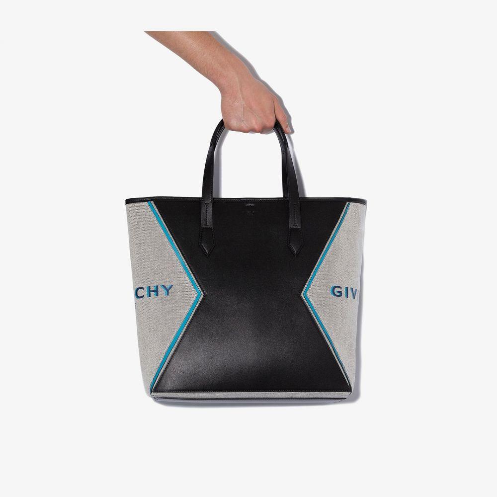 ジバンシー Givenchy メンズ トートバッグ バッグ【black paris bond leather tote bag】black