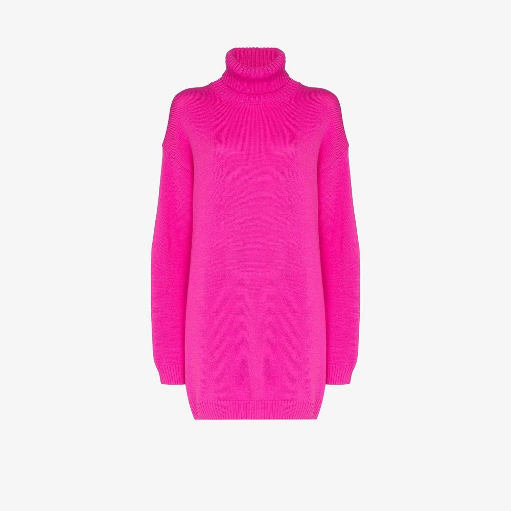 ゲージ81 GAUGE81 レディース ニット・セーター トップス【oversized cashmere sweater】pink