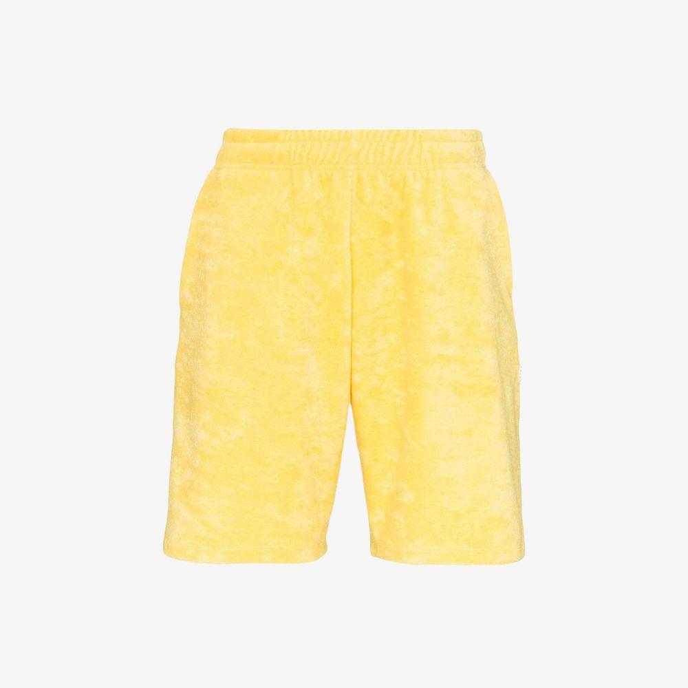 フューチャー Futur メンズ ショートパンツ ジャージ ボトムス・パンツ【SPG track shorts】yellow