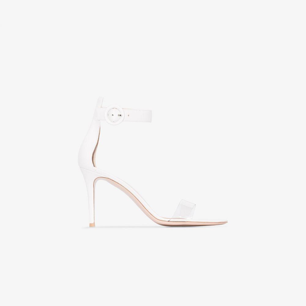 ジャンヴィト ロッシ Gianvito Rossi レディース サンダル・ミュール シューズ・靴【white Portofino 85 sandals】white