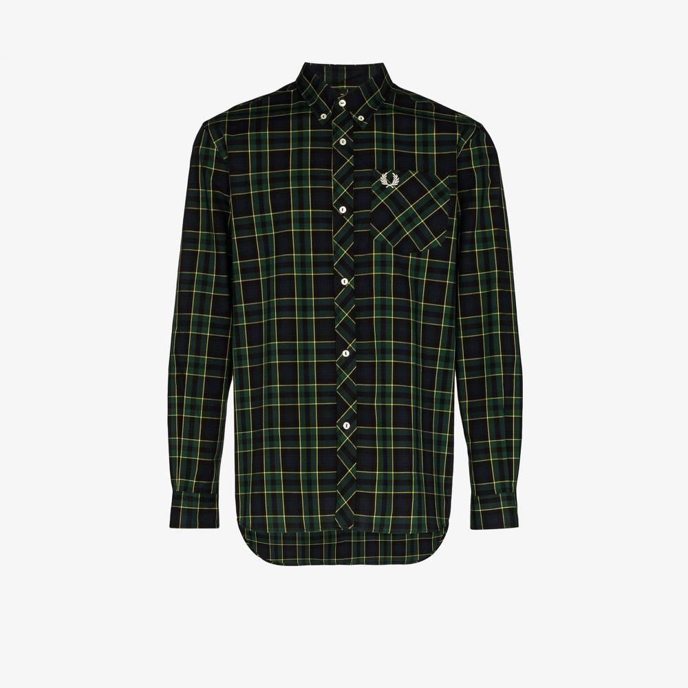 フレッドペリー Fred Perry メンズ シャツ トップス【Tartan print shirt】black