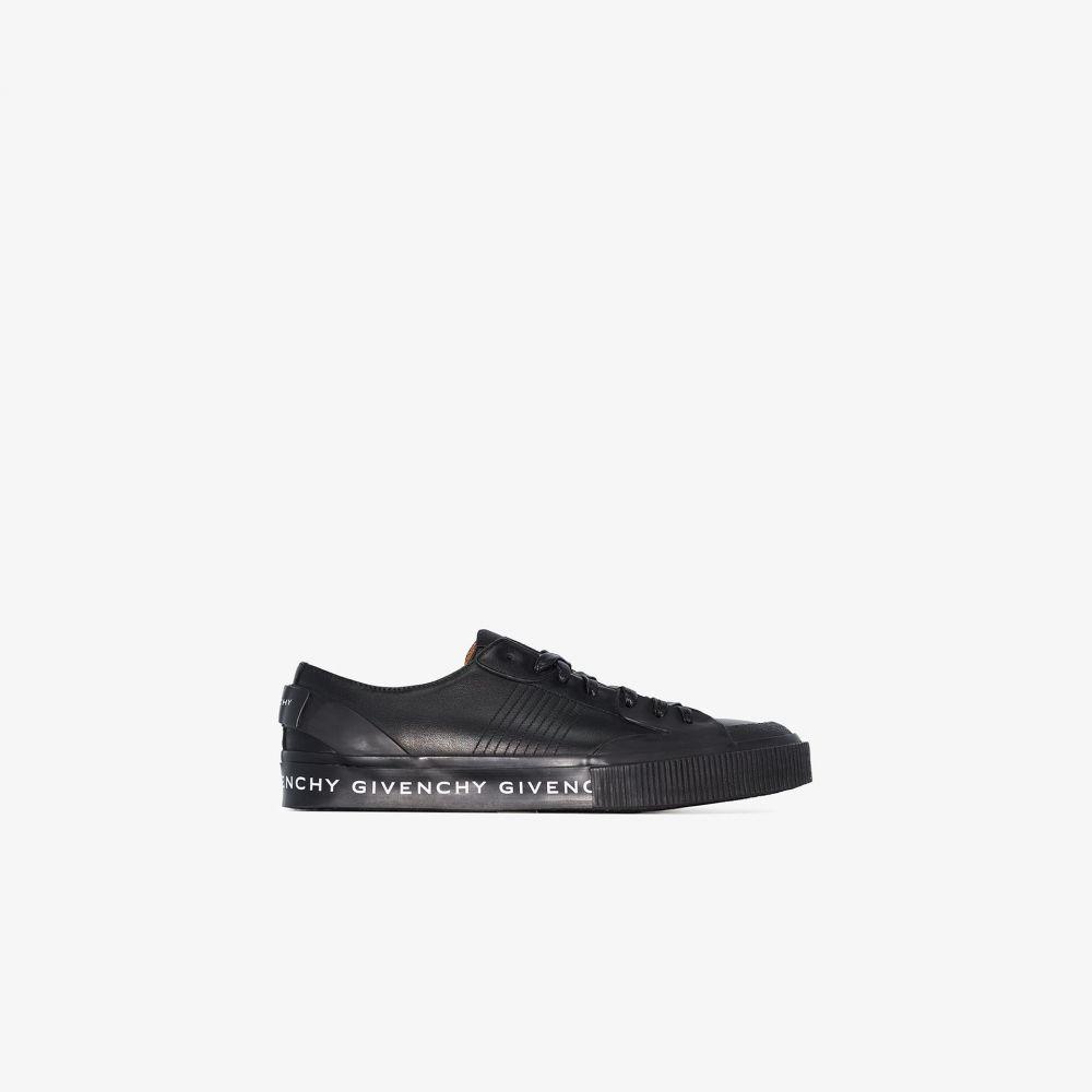 ジバンシー Givenchy メンズ スニーカー ローカット シューズ・靴【black Tennis Light leather low top sneakers】black