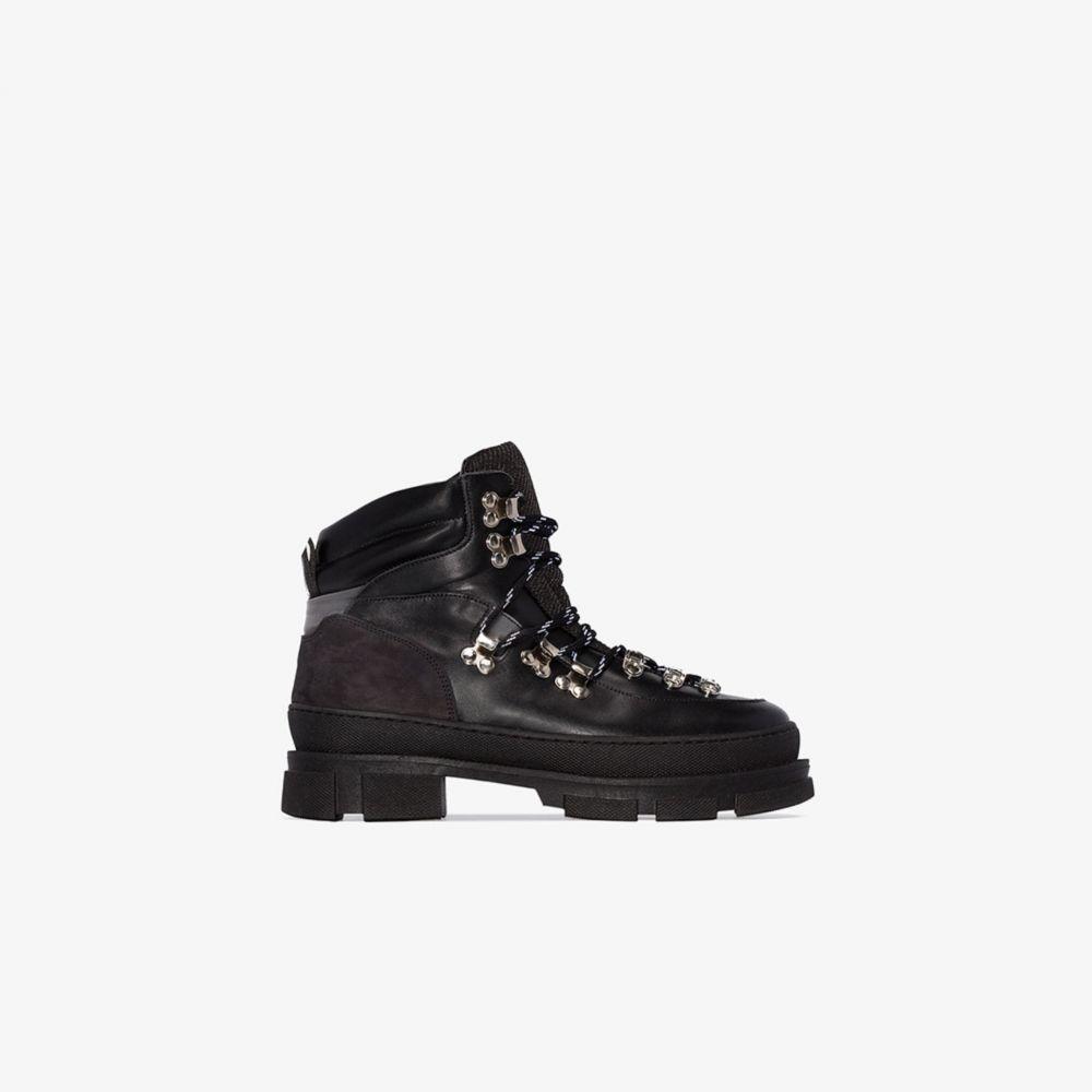 ガニー GANNI レディース ブーツ シューズ・靴【Black Winter City Leather Hiking Boot】black