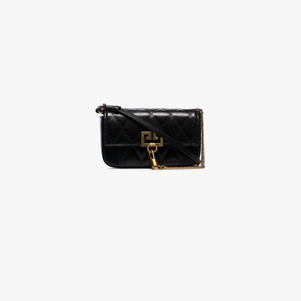 ジバンシー Givenchy レディース ショルダーバッグ バッグ【black Pocket mini leather cross body bag】black
