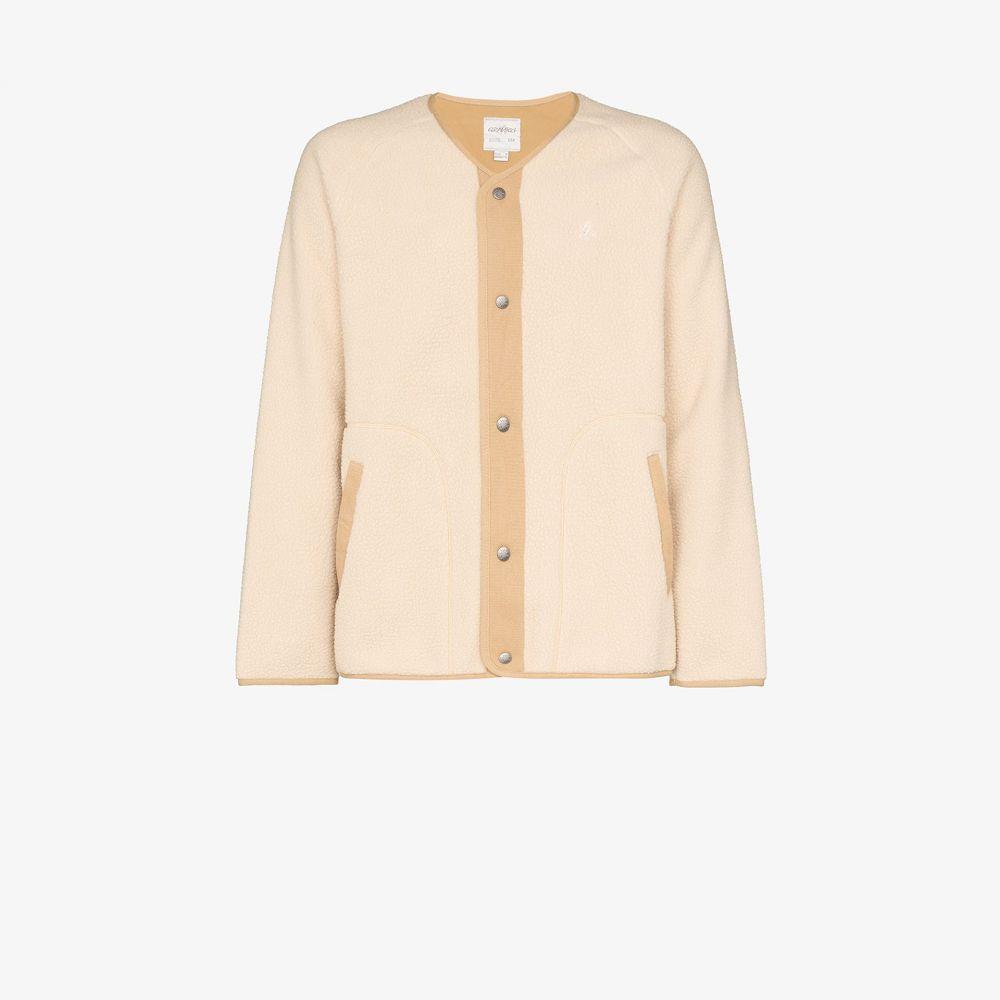 グラミチ Gramicci メンズ フリース Vネック トップス【beige Boa V-neck fleece jacket】neutrals