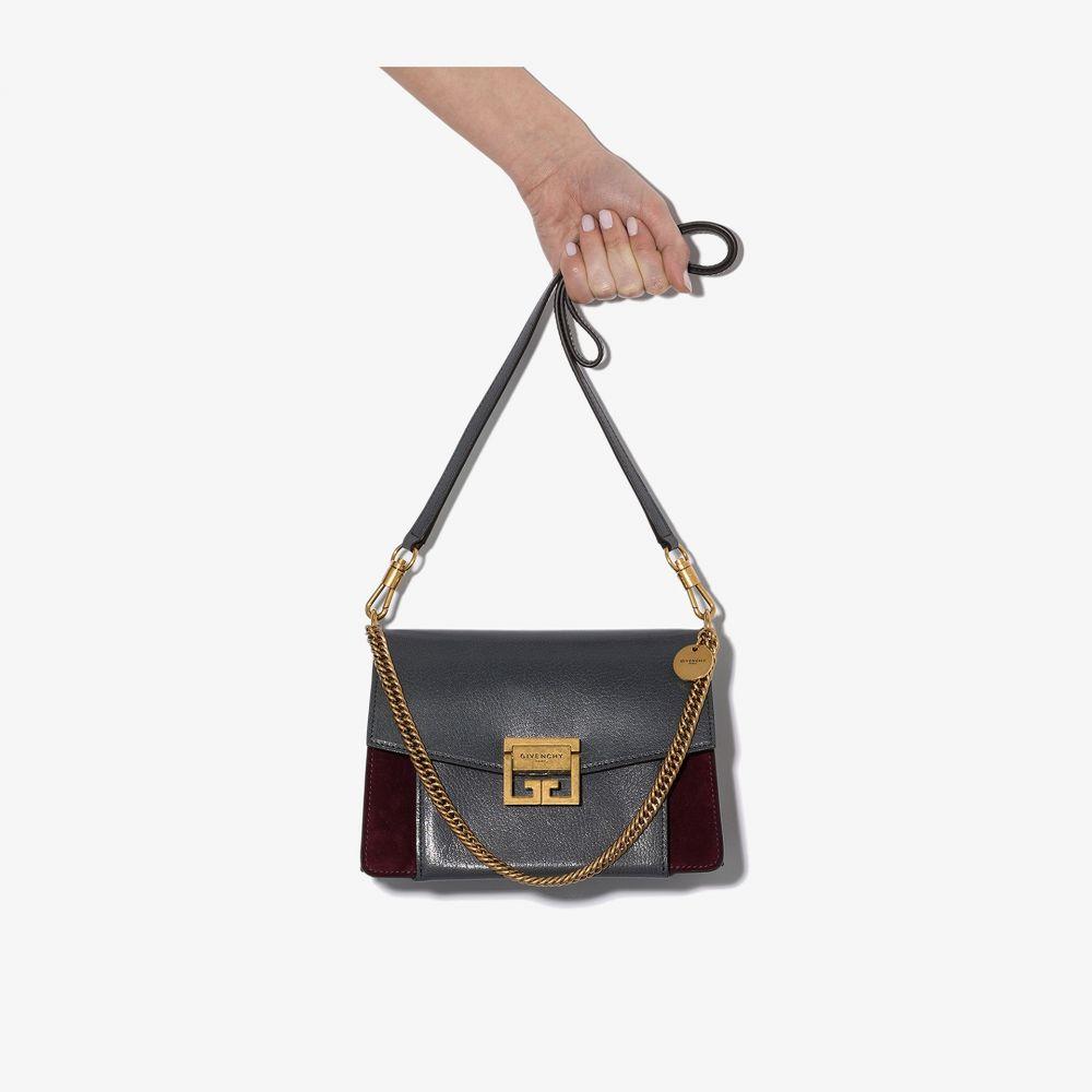 ジバンシー Givenchy レディース ショルダーバッグ バッグ【grey GV3 small leather bag】grey