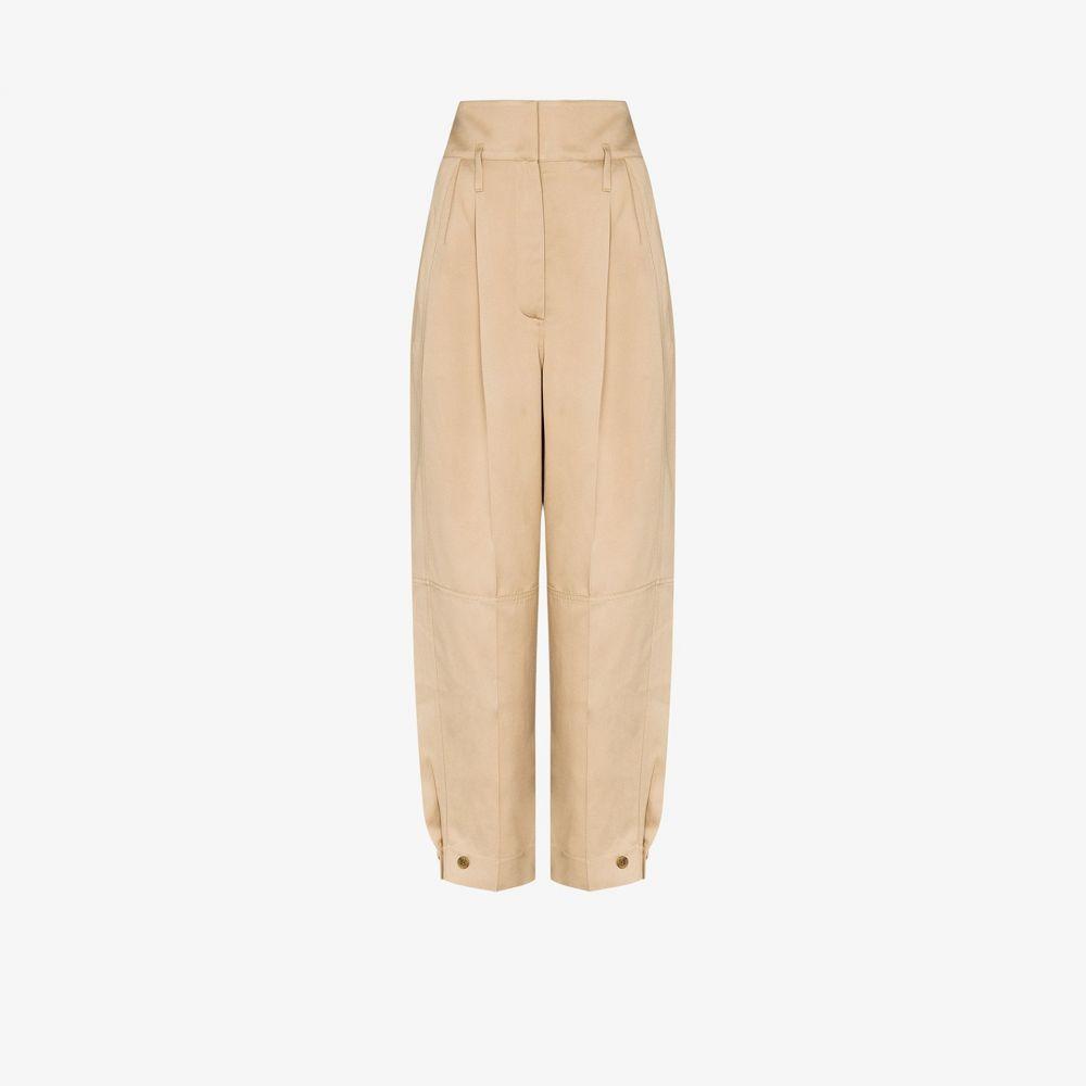 ジバンシー Givenchy レディース ボトムス・パンツ ワイドパンツ【Wide leg pleated trousers】neutrals
