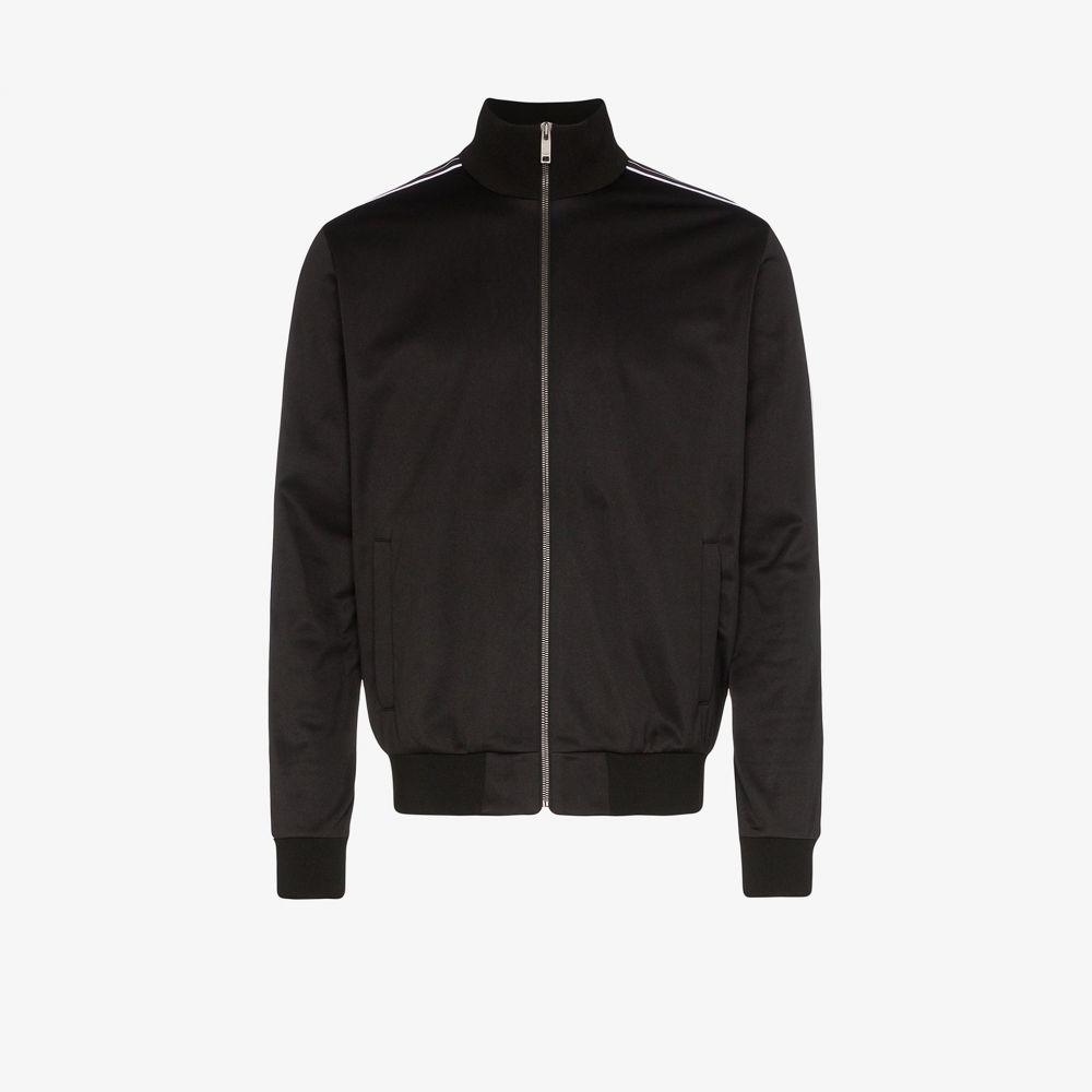 ジバンシー Givenchy メンズ ジャージ アウター【Ticker logo track jacket】black