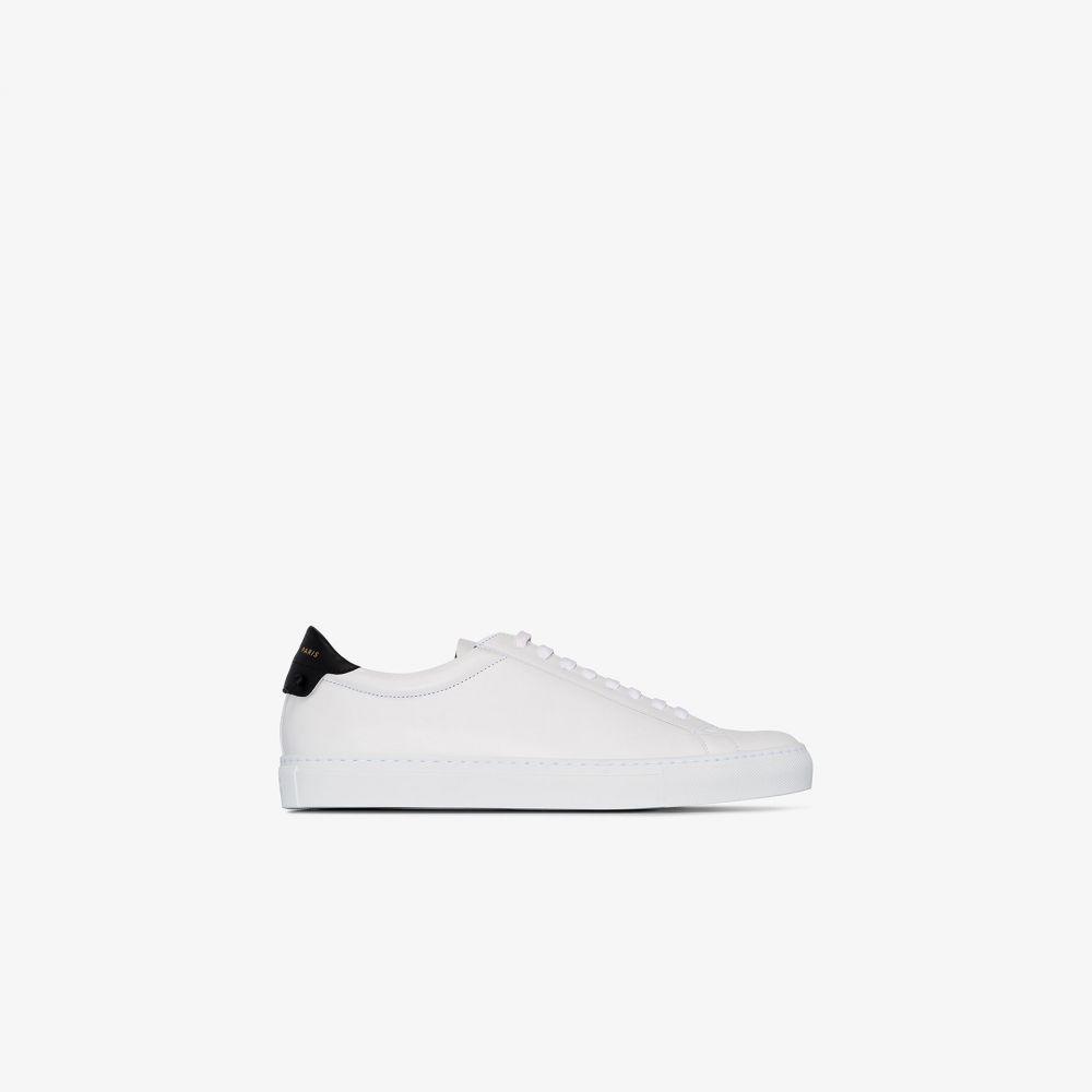 ジバンシー Givenchy メンズ スニーカー シューズ・靴【white urban street leather sneakers】white