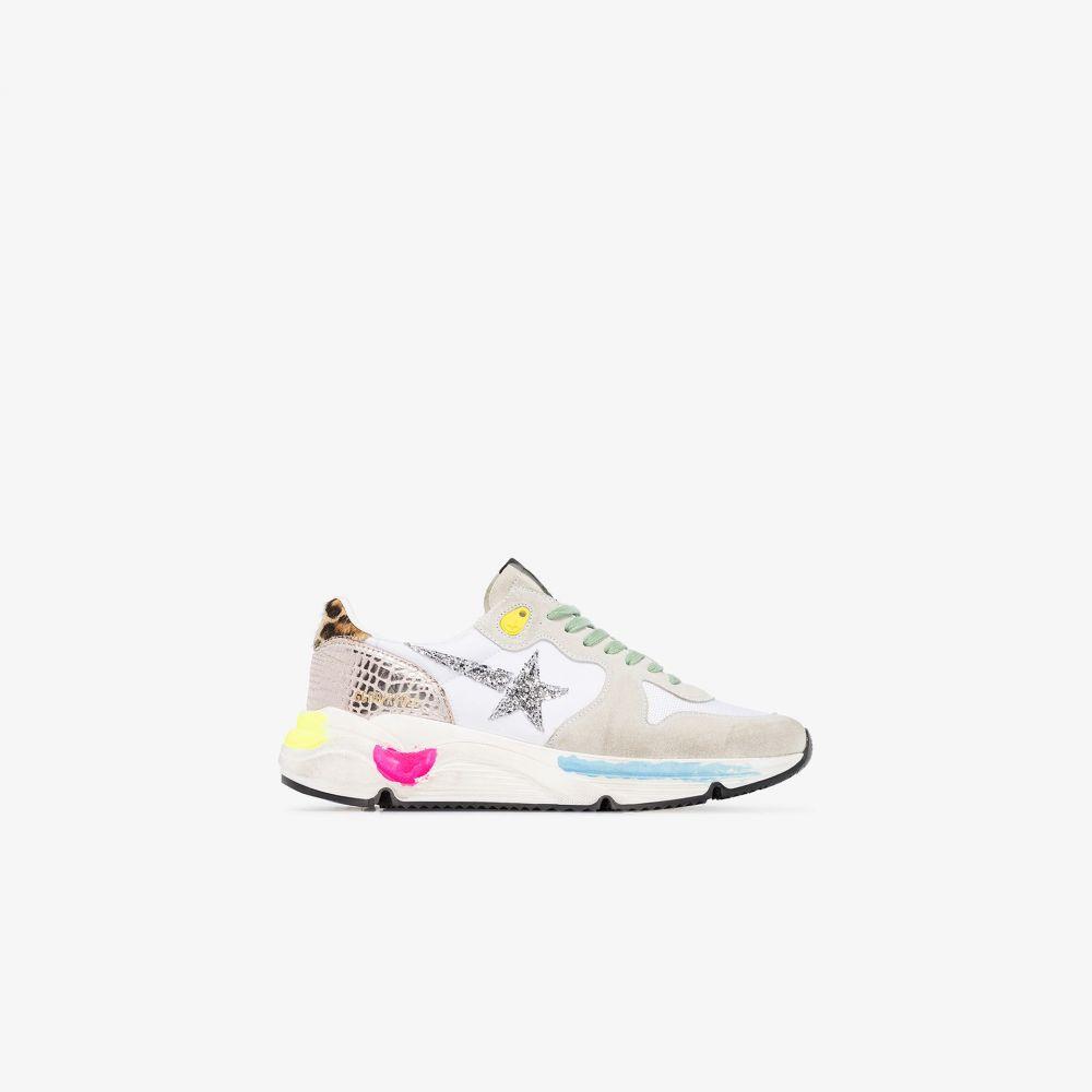 ゴールデン グース Golden Goose レディース ランニング・ウォーキング スニーカー シューズ・靴【multicoloured running sole sneakers】white