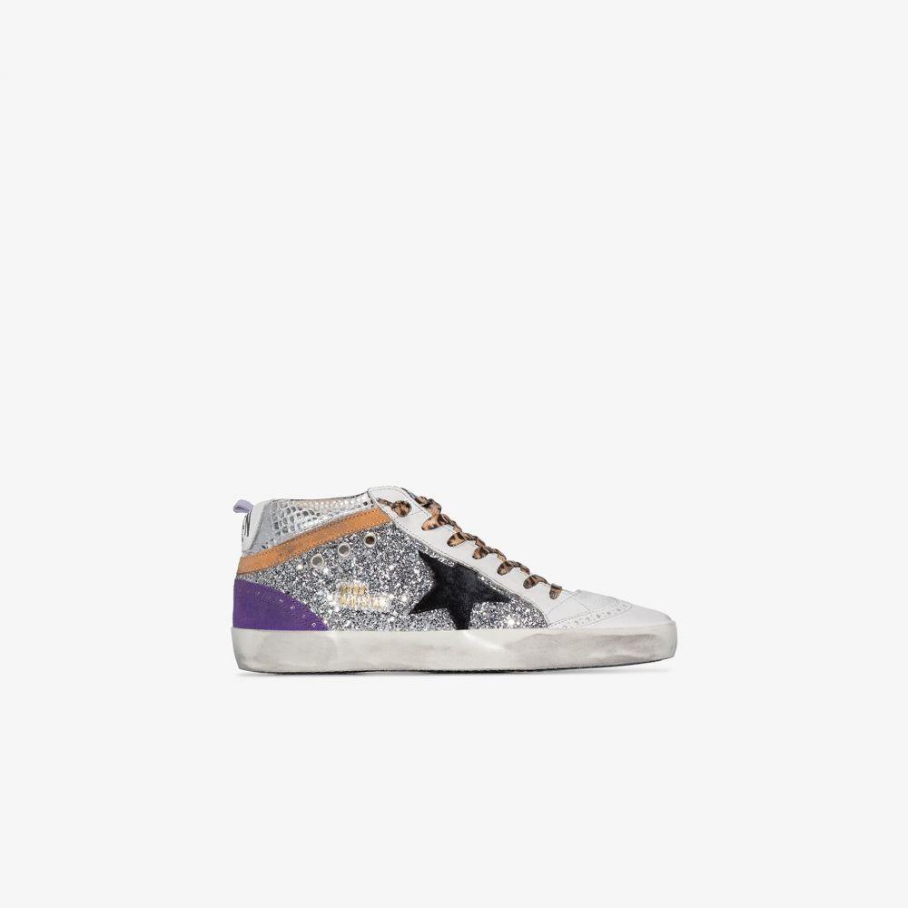 ゴールデン グース Golden Goose レディース スニーカー シューズ・靴【multicoloured mid star leather high top sneakers】white