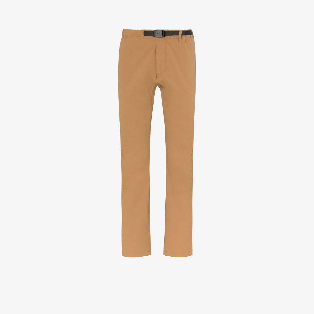 グラミチ Gramicci メンズ ボトムス・パンツ 【brown 4 way straight leg trousers】brown