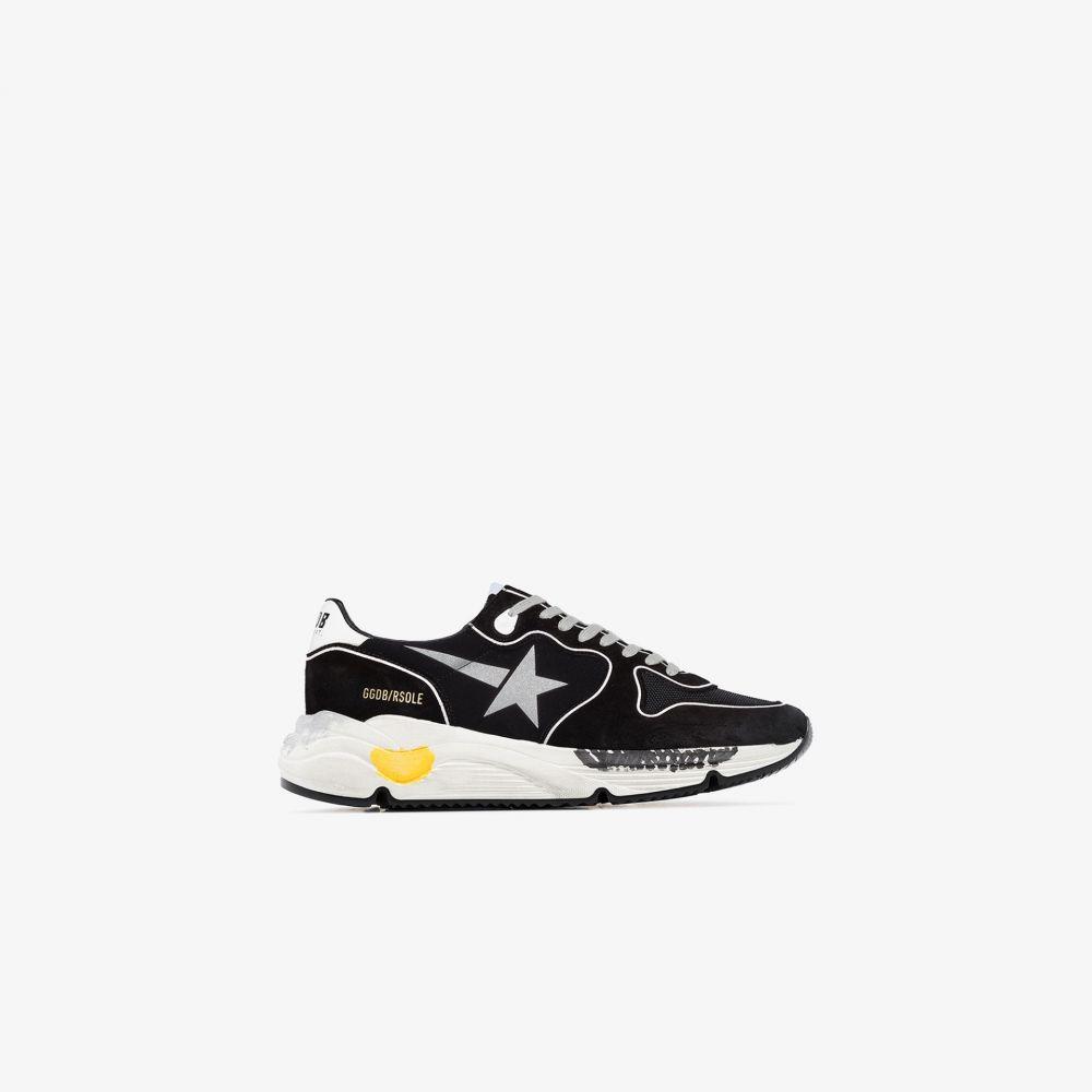 ゴールデン グース Golden Goose メンズ ランニング・ウォーキング スニーカー シューズ・靴【Black Running Sole suede sneakers】black